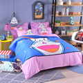 UNIKIDS Cute cartoon duvet cover set  bedding set for Kids boy or girls Twin size  KT001
