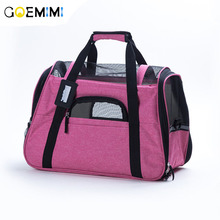 New Arrival Pet Cat Carrier Mesh Breathable Dog Outdoor Bag High Quality small dog Handbag Travel