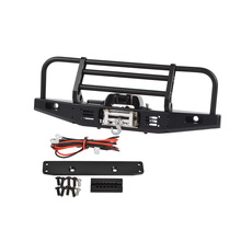Universal Metal Front Anti-collision Bumper For 1/10 RC Traxxas TRX4 Defender Bronco Axial Scx10