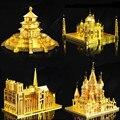 3D Металлические Головоломки DIY Сборки Различных Строительных Игрушки Развивающие Детские Игрушки Архитектура Tangram Головоломки детский Подарок