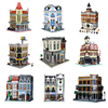 LEPIN City Series Model 15001 15002 15003 15005 15006 15008 15009 15017 15018 Compatible Legoed Building