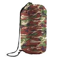 LCLL-3 Temporada Solo Caso Traje Adulto Impermeable de Excursión Que Acampa Saco de Dormir Del Sobre Color: camuflaje verde Militar