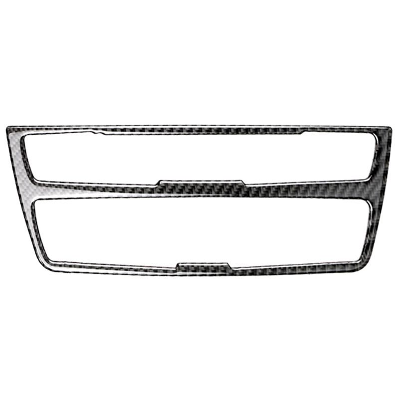For <font><b>Bmw</b></font> <font><b>F20</b></font> F21 Carbon Fiber Car <font><b>Interior</b></font> Air Conditioning Cd Control Panel Cover Trim Car Styling <font><b>Stickers</b></font> 1 Series image