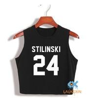 European Harajuku Women S Crop Top Fashion Shirt Teen Wolf Stilinski Summer Top Ladies Tank Top