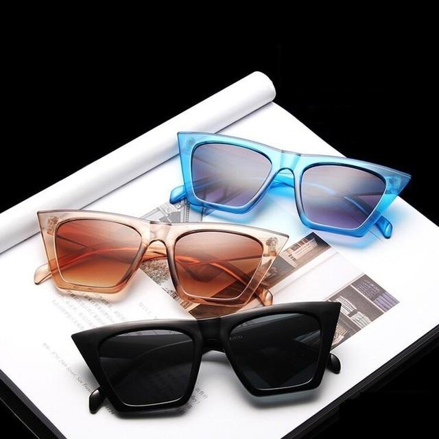 Fashion Square Vintage Sunglasses 6