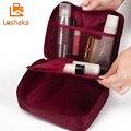 Loshaka mujeres bolsa de maquillaje bolsas de cosméticos cremallera neceser maquillaje caso del organizador del artículo de tocador kits bolsa de almacenamiento bolsa de lavado viajes