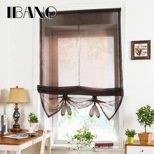 Римские занавески для кухни кофе балкона окна тюль шторы cortinas
