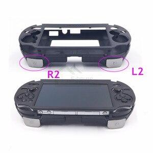 Image 5 - E dom na PSV1000 PSV 1000 L3 R3 ściskacz konsola do gier etui z podstawką z L2 R2 przycisk wyzwalacza dla ps vita 1000