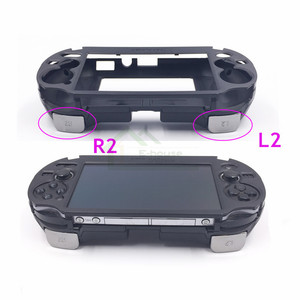 Image 5 - E house for PSV1000 PSV 1000 L3 R3 Hand Grip Game Console Stand Case with L2 R2 Trigger Button for PS VITA 1000