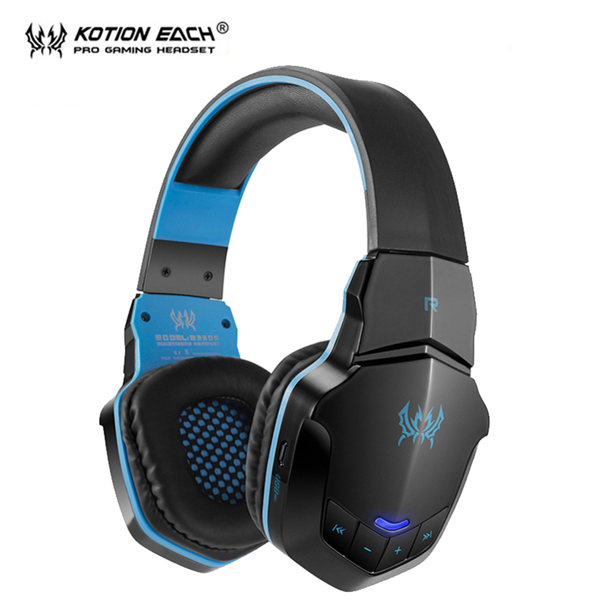 KOTION EACH B3505 Wireless Bluetooth headphone auriculares fone de ouvido pc gamer Gaming headset Headphones With Microphone kotion each b3506 foldable auriculares wireless fone de ouvido bluetooth headphones gaming headset gamer microphone kulaklik