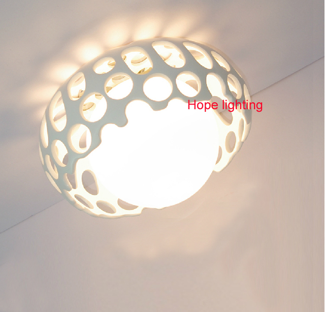 decorative ceiling lamp modern hanging ceiling lamp led balcony light aisle lighting bathroom lights led simple ceiling light-in Ceiling Lights from ...