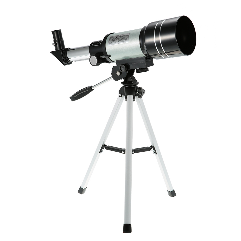 Outdoor HD Monocular 150X Refractive Space Astronomical Telescope Travel Spotting Scope with Portable Tripod Monocular Telescope
