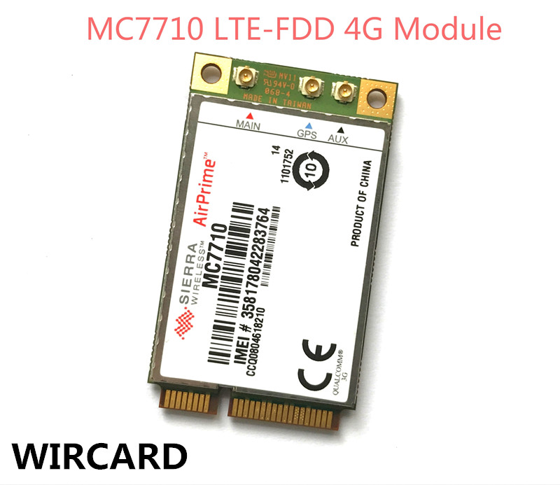 unlocked Sierra wireless MC7710 4G Original FDD LTE Support GPS 4G Card ganzo g7301 bk длина лезвия 88мм