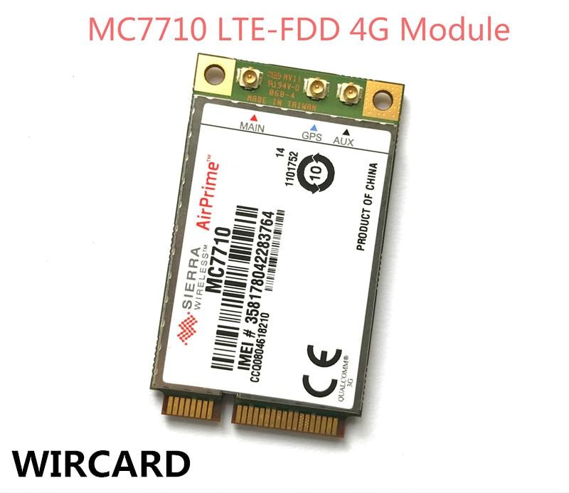 Unlocked Sierra Wireless MC7710 4G Original FDD LTE Support GPS 4G Card