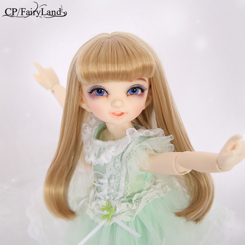Gratis frakt Fairyland Littlefee Reni BJD Dolls 1/6 Fashion Resin Figur Högkvalitativ Toy To Girls Oueneifs Dollshe Iplehouse