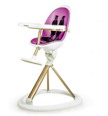 Multifunctional portable folding chair baby baby dining table and chairs can be adjusted to eat children's chairs