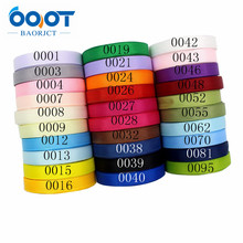 Solid-Color Grosgrain Ribbon Gift 10mm Packaging Birthday-Accessories Diy Handmade Party