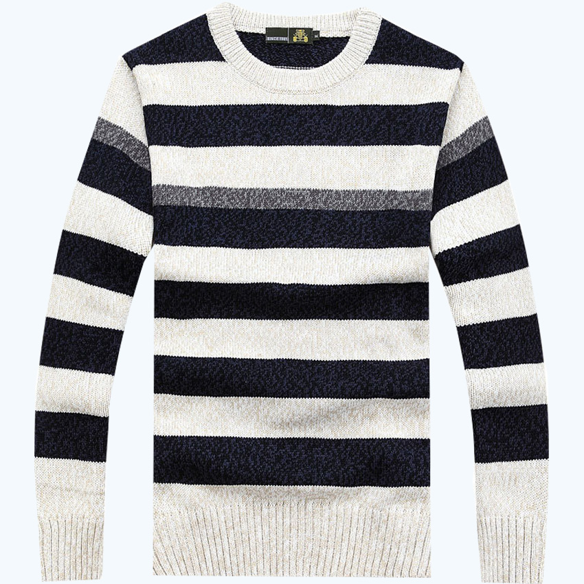 free shipping AFS JEEP brand high quality O neck style sweater striped more colors choice classic sweaters 88