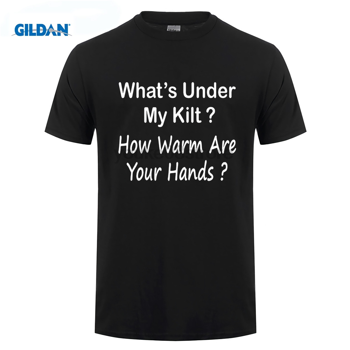 GILDAN 100% cotton o-neck custom printed T shirt Kilt Wearers Funny T Shirt Gift Idea for Scottish Men