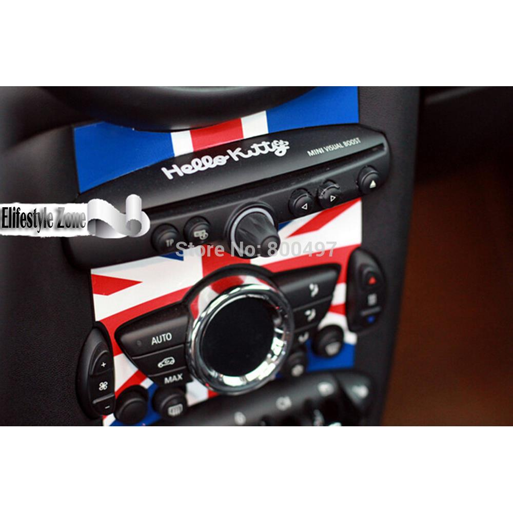 10 X Auto Sticker Car Cd Control Panel Decal Special Designed For Mini R55 R56 R57