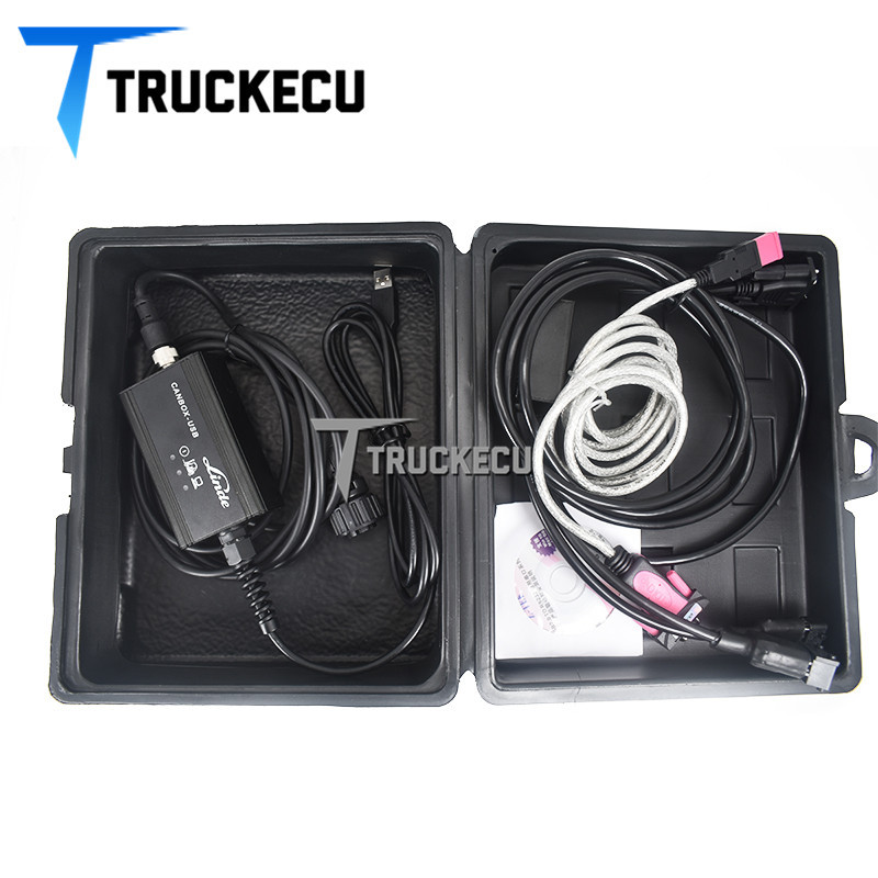 Pour Linde canbox avec linde pathfinder chariot élévateur Linde Canbox USB Médecin Câble De Diagnostic linde Adaptateur Boîte De Service