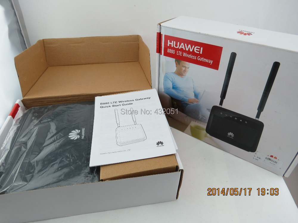 Huawei B880-70V 150Mbps 4G LTE Router (Antenna included)