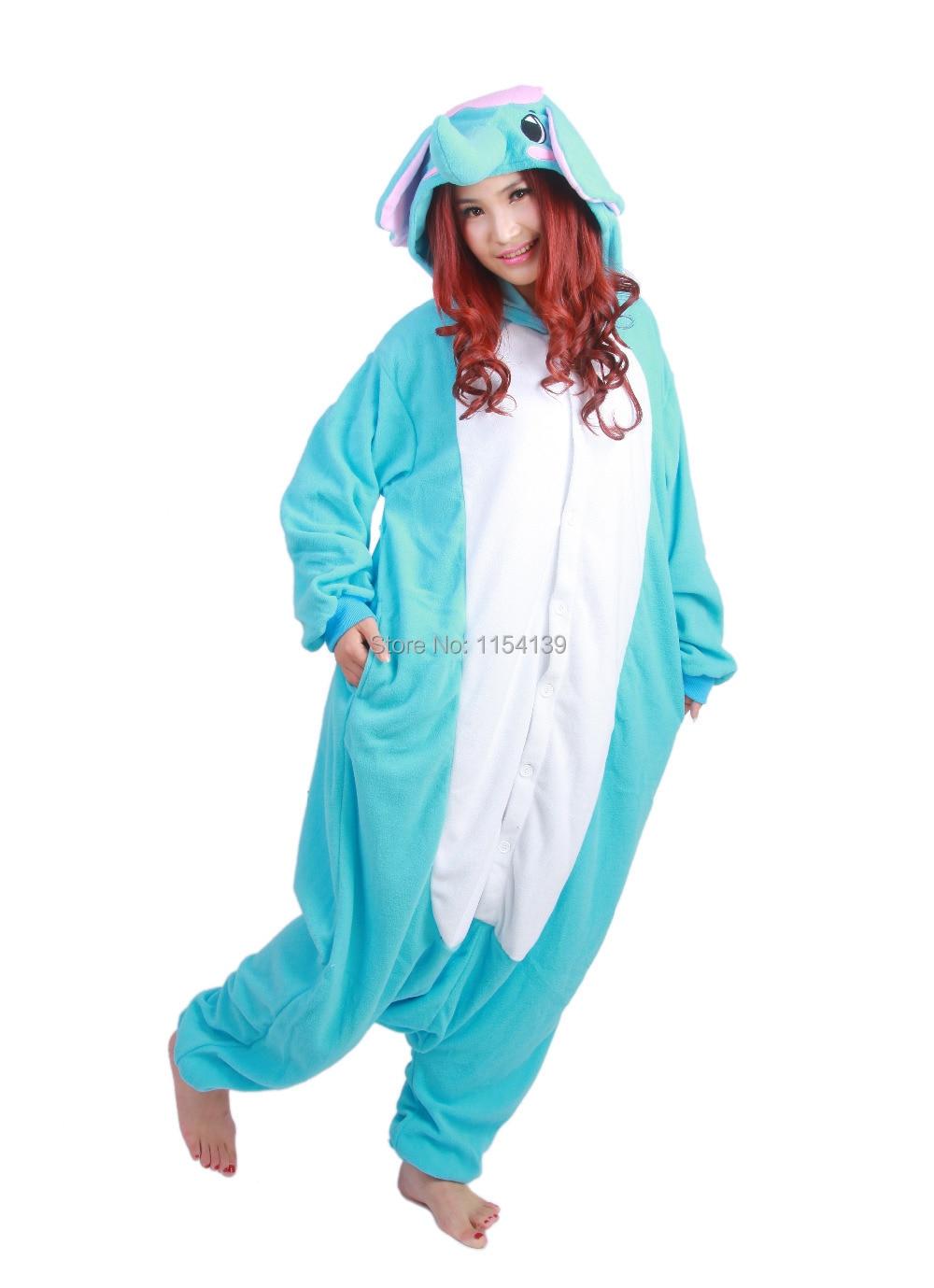 32522b1128bd Free shipping Elephants animal onesies 2014 new cheap Animal Onesies  Elephants pajamas Christmas Party animal Costume Sleepwear