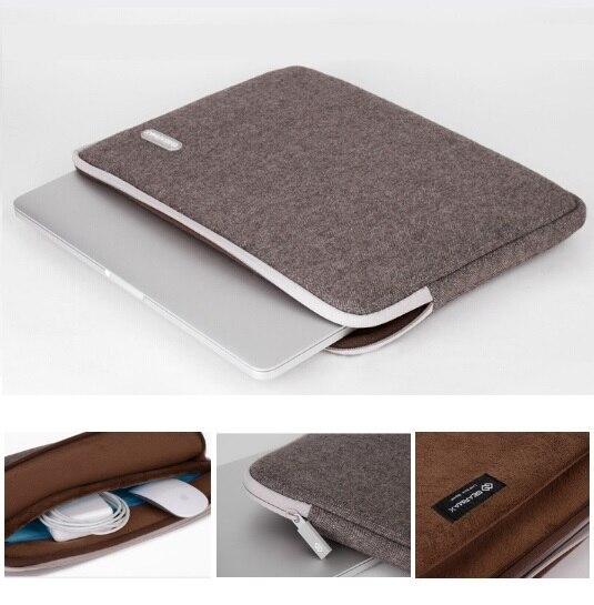 """Mais novo Hot Sleeve Case Bag Para MacBook Air 11 """"13"""" Pro 13 """"15"""", 14 """", 15.6"""" Laptop saco Do Caderno Saco, Por Atacado, Shiping Livre."""