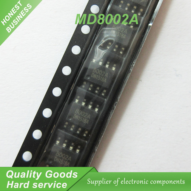 10pcs MD8002A MD8002 8002A 8002 audio amplifier IC can SOP8 new original