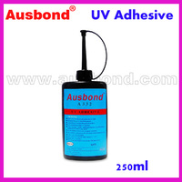 Wholesale UV Light Curing Adhesives Glass to Glass UV Curing Adhesives for Glass to Metal Shadowless Adhesive Glass Glue 250ml