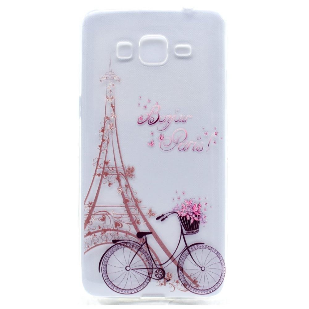 Neo Cartoon Butterfly Girl Tower bicicleta TPU funda suave Fundas - Accesorios y repuestos para celulares - foto 2