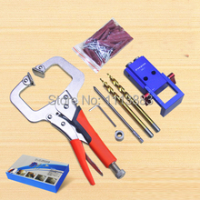Mini Pocket Hole Jig Kit For Woodworking with 3/8
