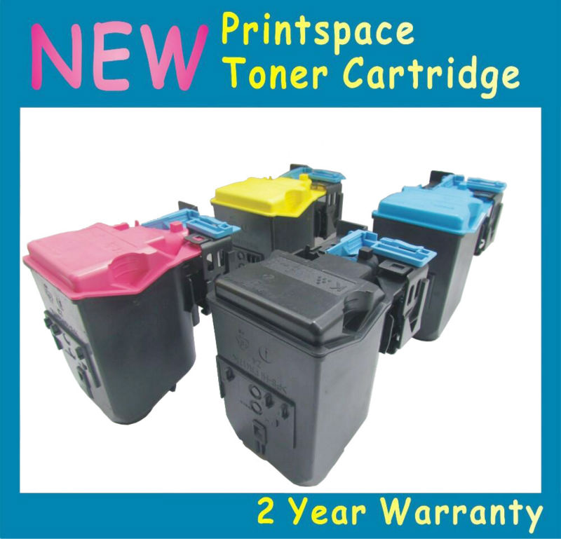 ФОТО 4x NON-OEM Toner Cartridges Compatible For Epson CX37dn CX37dnf CX37dtnf KCMY Free shipping