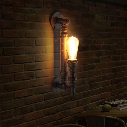 feature wall lighting. American Rural Style Industrial Wall Lamp Loft Light Creative Water Pipes Retro Lights Restaurant Features Feature Lighting A