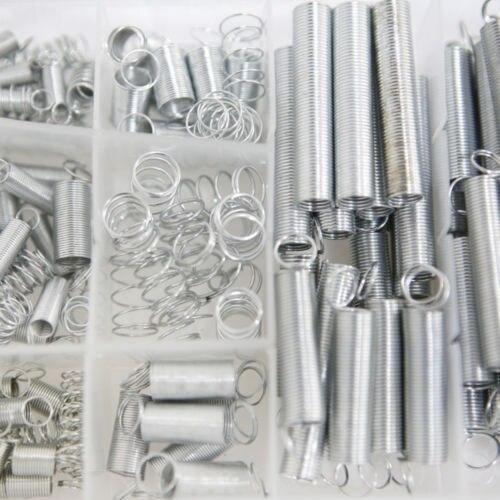 Fixmee 200 шт./компл. Ассорти Малый металла оптом Свободные Сталь пружины Ассортимент Комплект различных Размеры