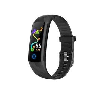 Image 3 - S5 Sport inteligentna bransoletka IP68 wodoodporny kolorowy ekran inteligentna opaska tętno krokomierz z ciśnieniomierzem śledzenie aktywności