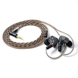 Image 5 - NICEHCK M6 dans loreille écouteur 4BA + 2DD hybride 6 unité HIFI métal écouteur écouteurs casque moniteur écouteurs avec MMCX câble détachable