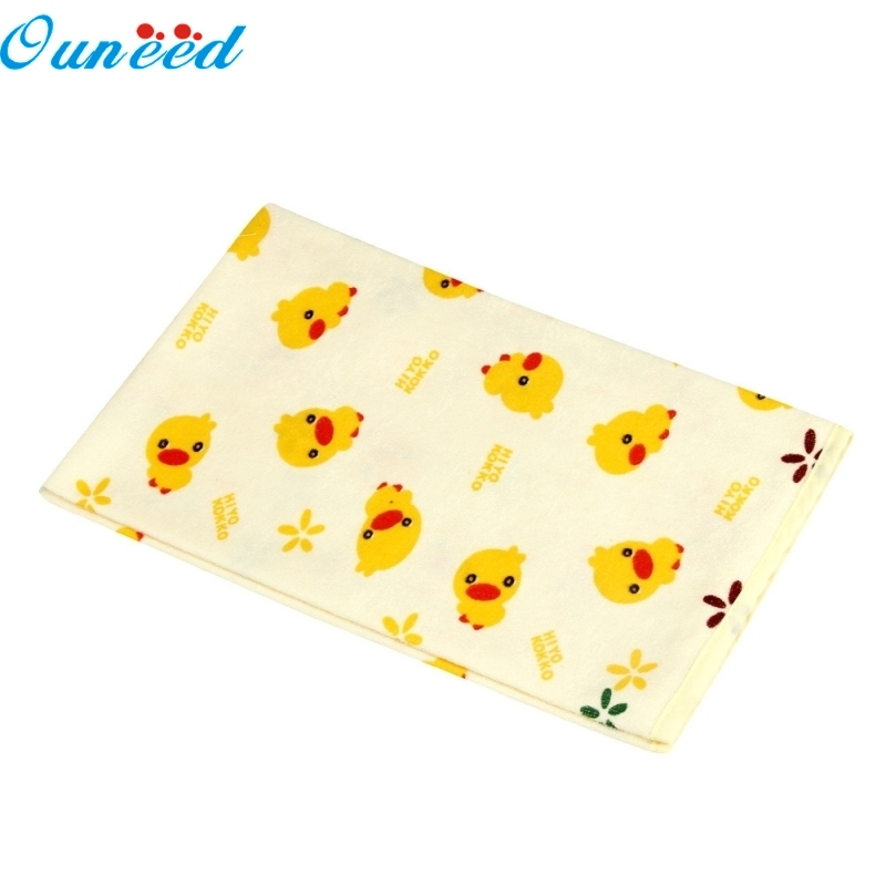 Ouneed Happy Home Children Kartoon Waterproof Mattress Sheet Bedding Diaper Changing Pad 1 Piece