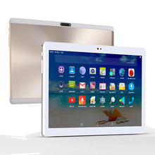 2.5D Tempered Glass 10 inch tablet PC 10 Core 4GB RAM 64 GB ROM 3G WCDMA 1280*800 IPS 5.0MP GPS WiFi Android 7.0 tablet 10 10.1