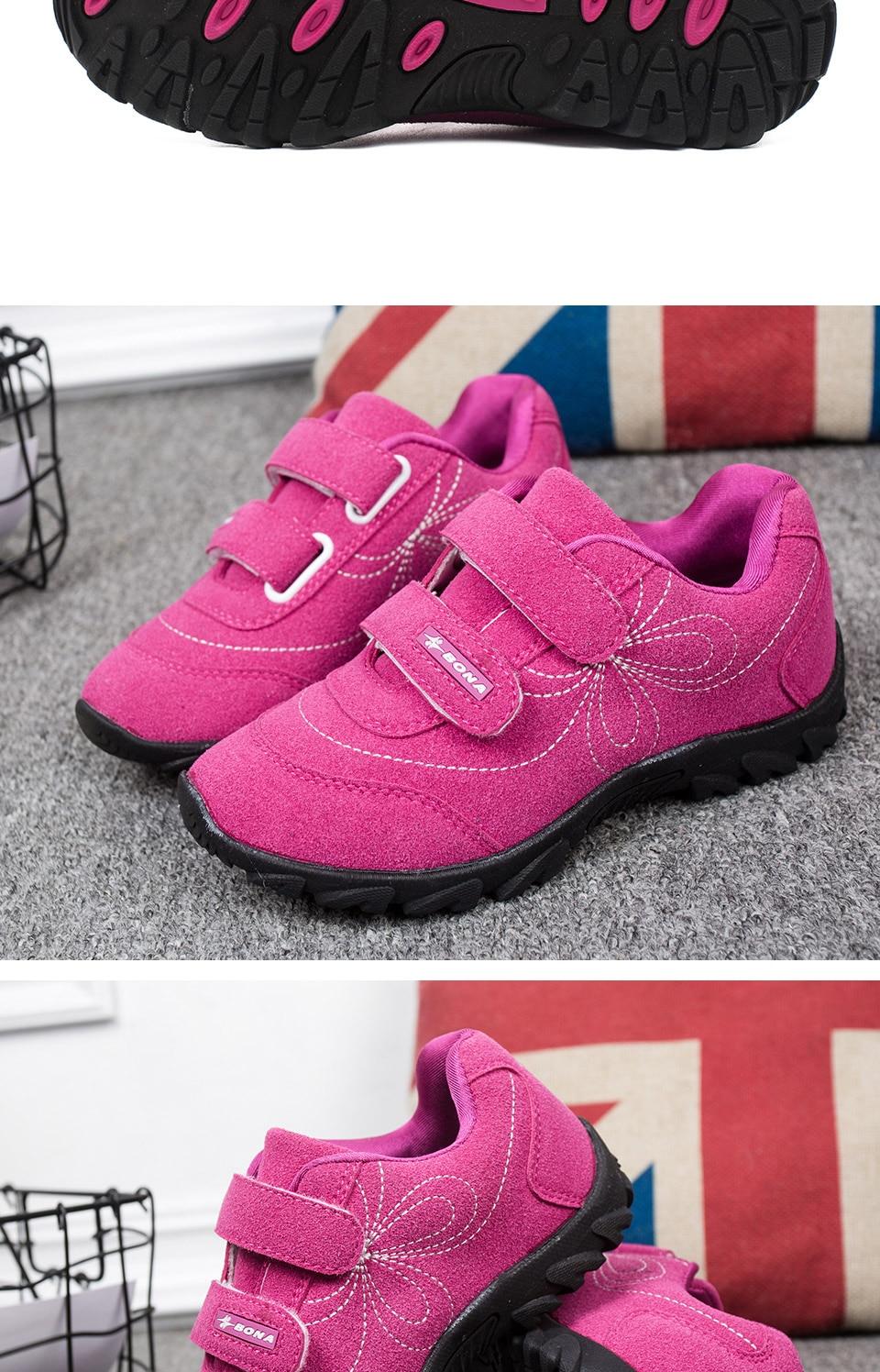casuais hook & loop crianças sapatos confortáveis