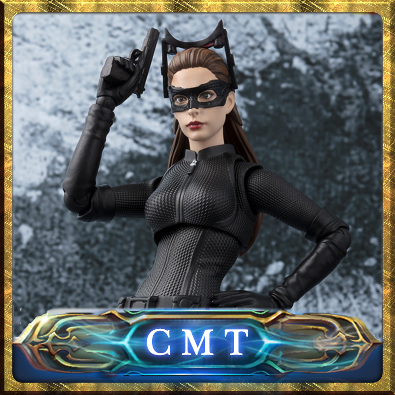 CMT Original BANDAI Tamashii Nations S.H. Figuarts SHF Catwoman The Dark Knight Action Figure Anime Toys Figure