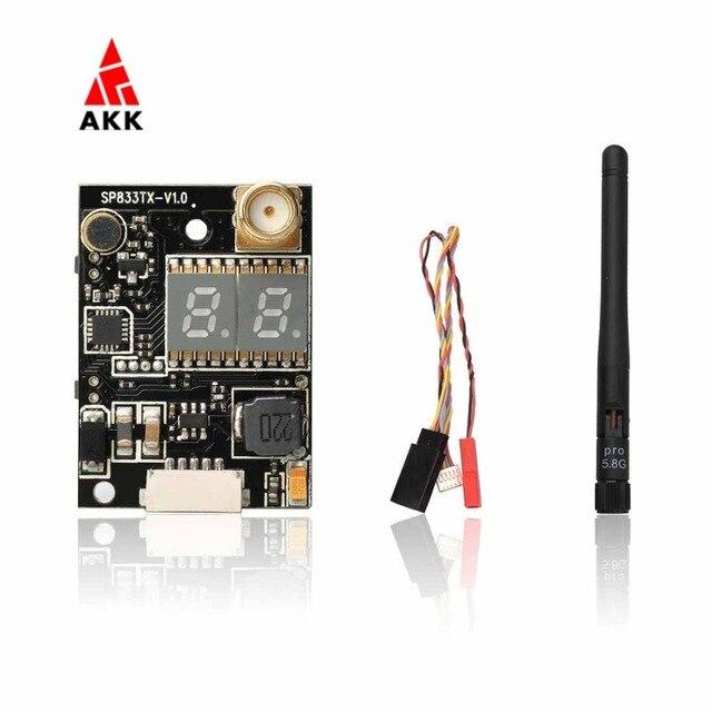 AKK K33 5.8G Double Screen Display 600mW FPV Audio Video Transmitter for 2000M Range