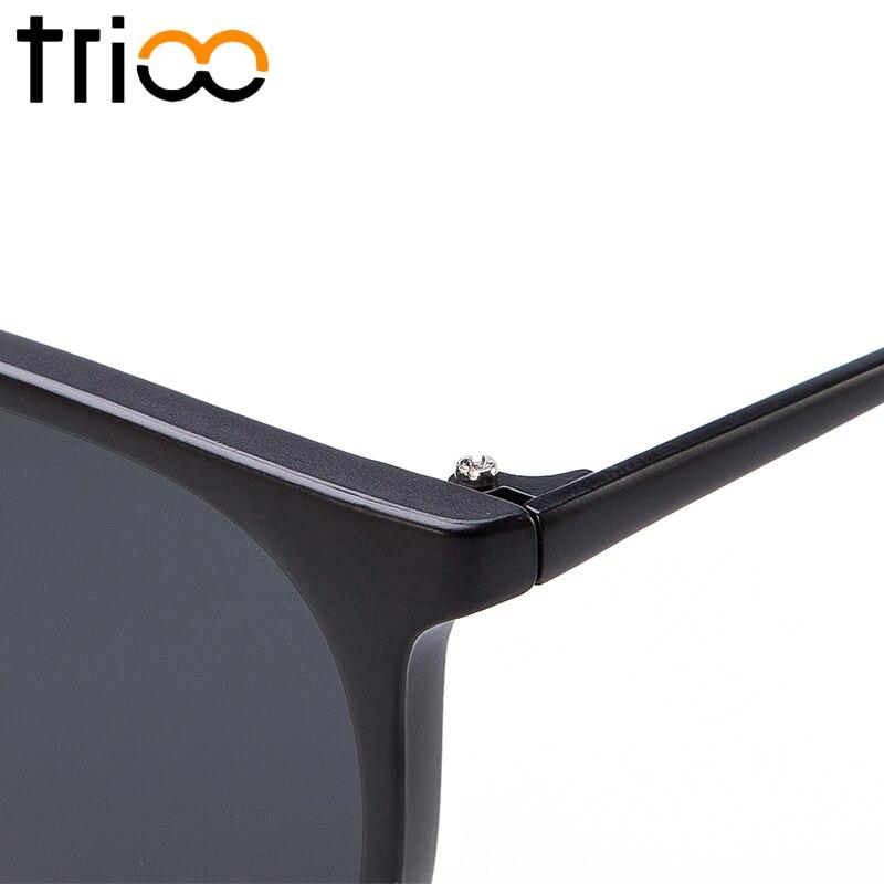 TRIOO Polariserad Spegel Solglasögon För Kvinnor Lyx Märke Färg - Kläder tillbehör - Foto 6