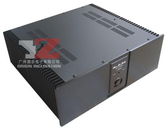 A2001B panneau en aluminium arrière-scène amplificateur de puissance châssis amplificateur de puissance stade AMP/Enceinte cas BOX/radiateur Externe