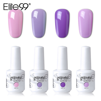 Elite99 15ml Gelpolish Nail Gel Soak Off UV LED Gel Nail Varnishes Manicure DIY Nail Art Beauty Design Gel Polish 4 Pieces/lot