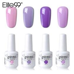 Elite99 15ml Gelpolish Gel Unhas de Molho Off LED UV Gel Unha Vernizes Manicure DIY Nail Art Beleza Gel Projeto polonês 4 peças/lote