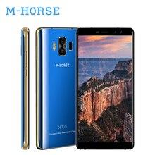 M-HORSE Pure Smartphone 5.7″ 18:9 Android 7.0 3GB RAM 32GB ROM Telefone Celular Quad Core Dual Cam 4G Fingerprint Mobile Phone