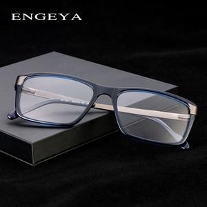 Image 2 - Men Glasses Clear Fashion Brand Designer Optical Eyeglasses Frame Transparent Glasses Men High Quality Prescription Eyewear #134