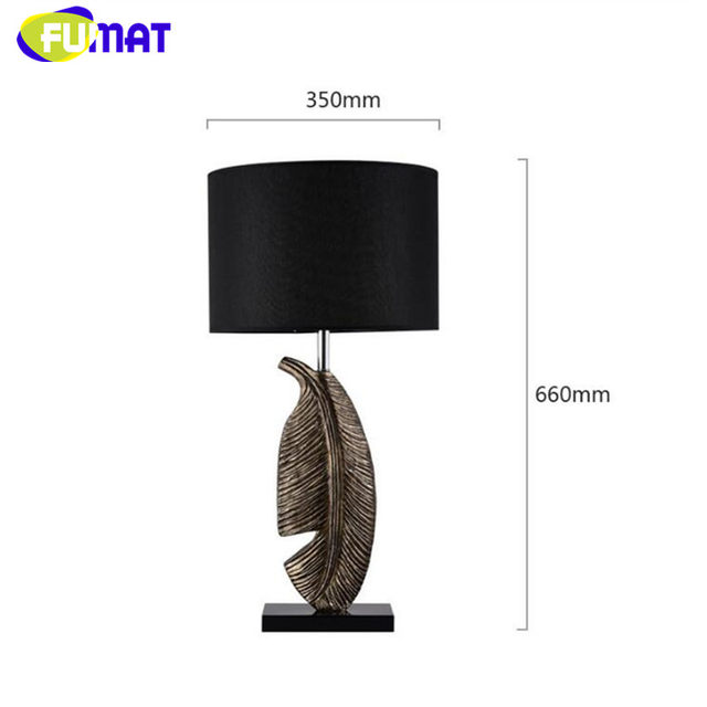 Online shop leaf table lamp european modern fashion designer table leaf table lamp european modern fashion designer table light study desk lamp bedroom living room resin leaf table lamps aloadofball
