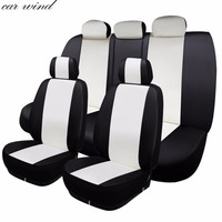 Car Wind Auto Leather Car Seat Cover Automotive Seat Cover Universal For Dacia Duster Camry 40